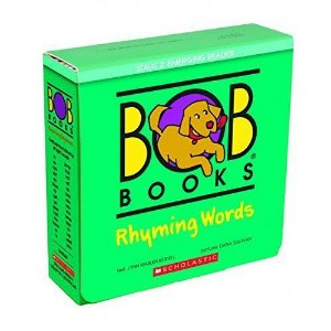 BOB BOOKS RHYMING WORDS - 20 LEVELED BOOKS FOR LITTLE LEARNERS