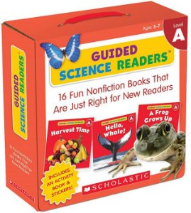 GUIDED SCIENCE READERS LEVEL A- 16 BOOKS FOR NEW READERS