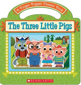 THE THREE LITTLE PIGS-FINGER PUPPET BOOK