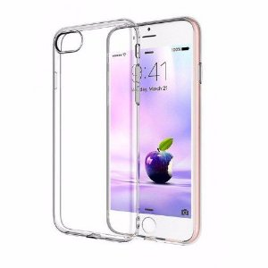 Capinhas para iphone 7 PLUS  de silicone gel top premium  transparente protetora