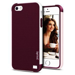 Capas para apple Iphone 5/5s e SE emborrachada Eagletechz