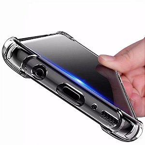 Capinhas Galaxy S8 Samsung anti impacto com bordas translucida tpu silicone gel
