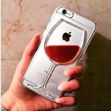 Capa  em gel liquido taca vinho para iphone 6s,6,6 plus, 6s plus, 5s,5c,5 4s,4