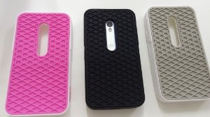 Capa emborrachada para celular Motorola Moto G 3 Vans off the wall