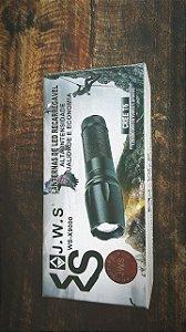 LANTERNA DE LED RECARREGAVEL J.W.S WS-X900