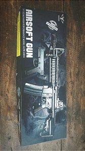 KIT AIRSOFT - RIF.M4A1+PIST V307 MOLA 6MM