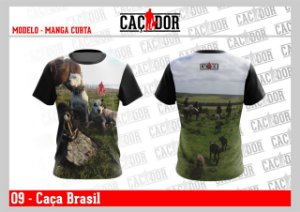 Camiseta Caça Brasil Dry Fit UV