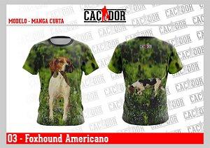 Camiseta Foxhound Americano - Kiara