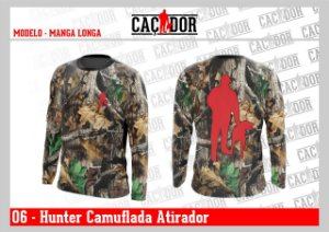 Camiseta Hunters Dry Fit UV