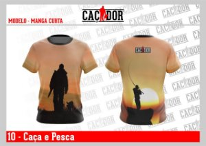 Camiseta Caça e Pesca Dry Fit UV