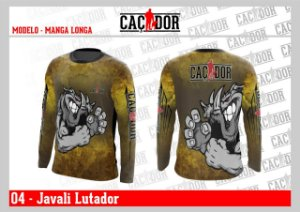 Camiseta Dry Fit UV Javali