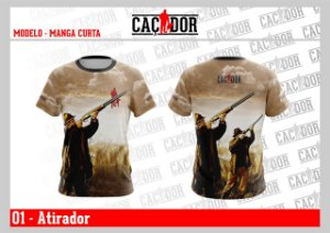 Camiseta Atirador Dry Fit UV