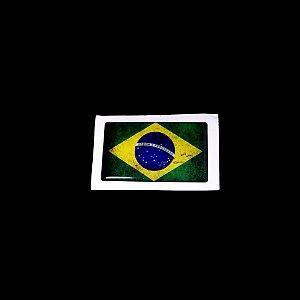 Adesivo Brasil Resinado (Alto relevo)