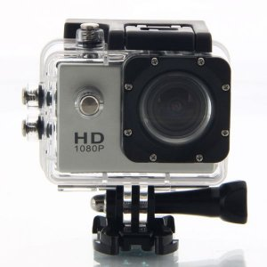 Action camera sports hd dv water resistant 30 m