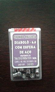 Chumbinho Paulista - 6,0 ¨com esfera de aço¨
