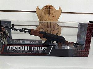 Miniatura em metal - Arma modelo AK 002
