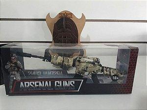 Miniatura em metal - Arma modelo M4001