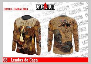 Camiseta Lendas da Caça - CAPITÃO