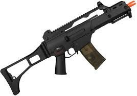 RIFLE AIRSOFT CYMA G36 ELETRICO