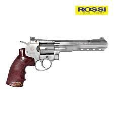 REVOLVER WINGUN NIQUEL 702S 6 POL CO2 ESFERA 4,5 MM