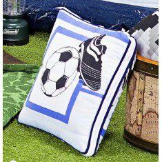 Edredom Almofada Infantil Futebol 01 Peça - Estampado