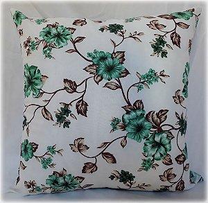 Capa para Almofada floral