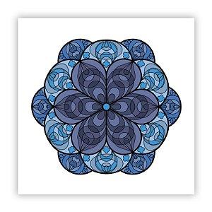 Poster Fiori Azul