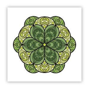 Poster Fiori Verde