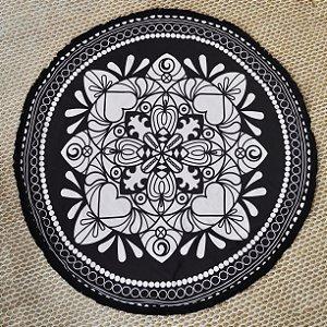 Canga Toalha Mandala Nera