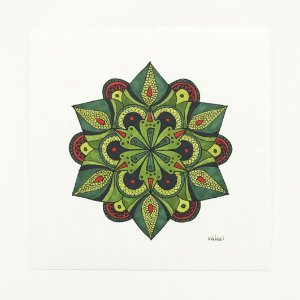 Mandala Suculenta #1 - Original