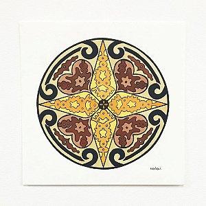 Mandala Granada - Original
