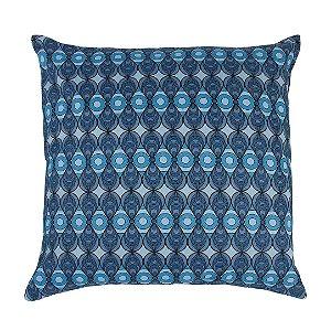 Almofada Azulejo Azul 50x50