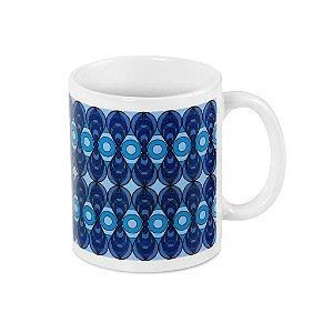 Caneca Azulejo Azul