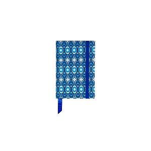 Caderno 9x13 Azulejo Azul