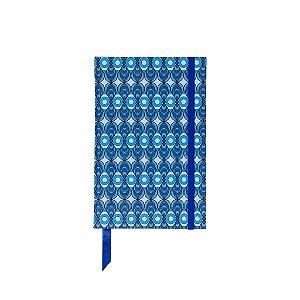 Caderno 13x20 Azulejo Azul