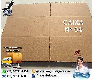 Caixa 04 - 40 x 36 x 20 - (PACOTE c/ 15 unidades)