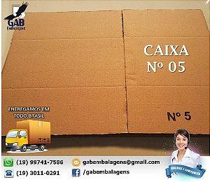 Caixa 05 - 36 x 29 x 19 - (PACOTE c/ 15 unidades)