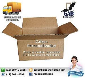 Caixa Medida Personalizada - Sob Consulta