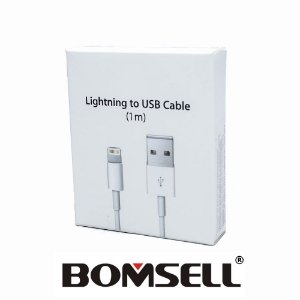 b935c1f20bcfb Lightning To Usb Cable Bomsell (1m) Para Iphone.