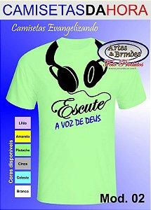 Camisetas Evangelizando Clique para ver outros produtos