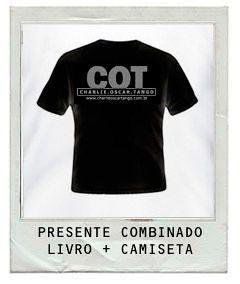 Livro COT + Camiseta 02 PRETA UNISSEX