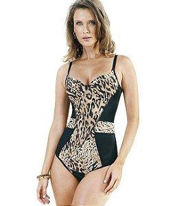Cinta modeladora Body Estampa de Onça