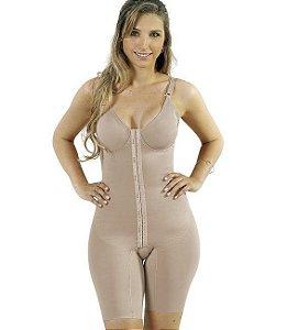 Modelador Yoga com Pernas e Abertura Frontal