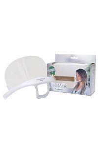 Mascara Higiênica - Protetora Salivar Clear Mask C/ 1 Refil - Estek
