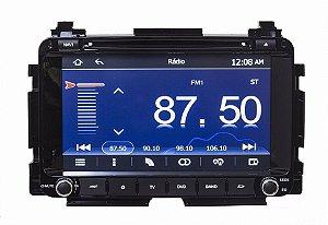 Kit Central Multimidia Tv Gps Honda Hrv Usb Bt Camera Re