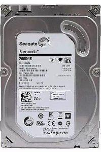Hd Seagate Desktop 3.5 2tb 64mb Sata 3 6gb/s 7200rpm Pc