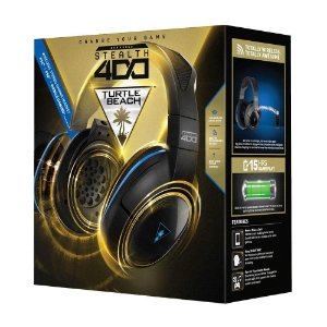 Headset Sem Fio Ear Force Stealth 400 Turtle Beach Ps4 Ps3