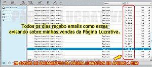 Página Lucrativa + Kit Com Centenas de Cursos + Extrator E-mails Atualizados