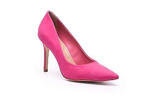 Scarpin Stiletto Nobuck Mod Pink