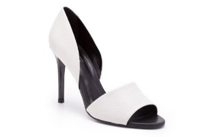 Peep Toe Off White Margarida